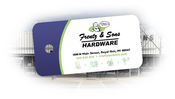 Frentz & Sons Hardware Rewards